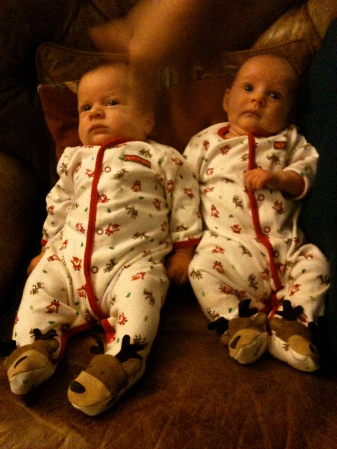 Their first christmas