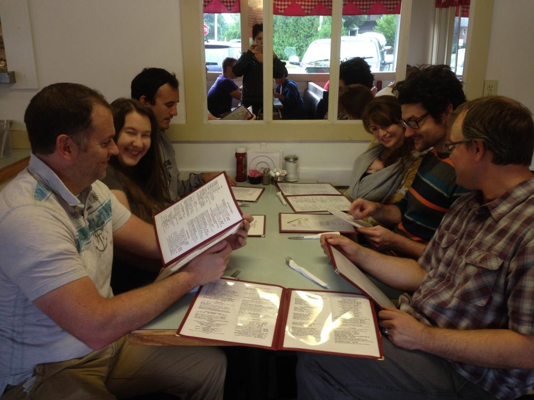 Automatticians in a diner!