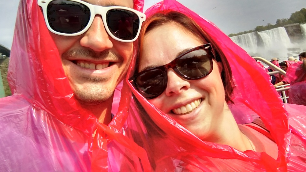 Red poncho day