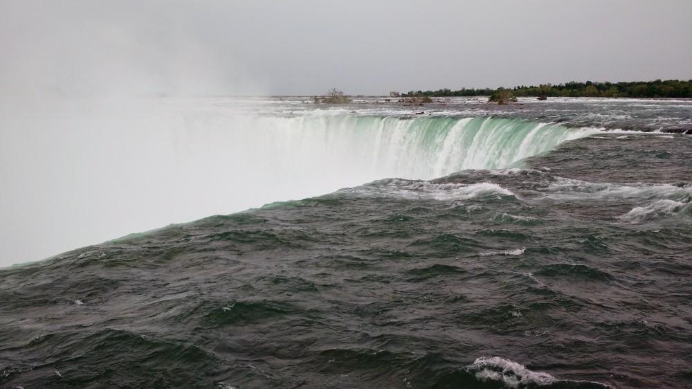 Rim of the Horseshoe falls