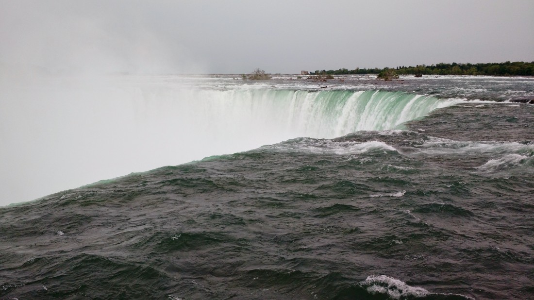 Rim of the Horseshoe falls
