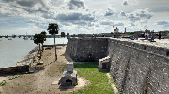The Castillo - it was ordered built by the Spanish queen regent after 9 successive wooden forts were burned to the ground.