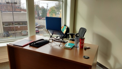 Part of my office.