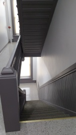The stairs in the building - I just like the detail.