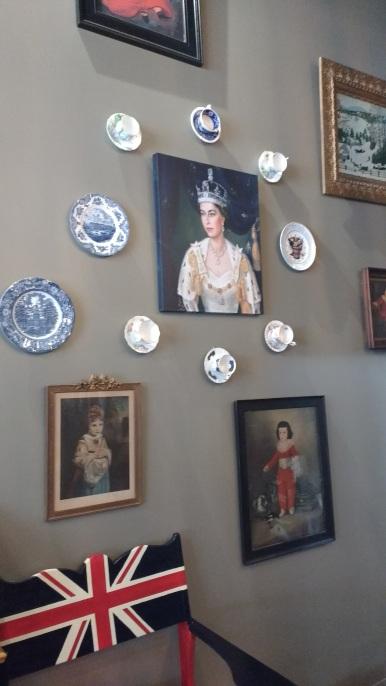 Inside the Union Tea Cafe.